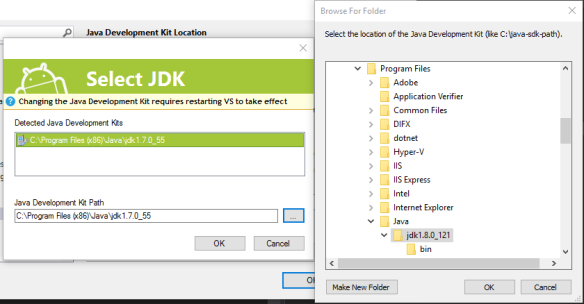 7-select-jdk-8-path