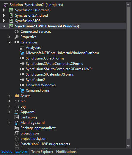 Syncfusion UI Xaml | Xamarin Sharp – Codez with Buddhima